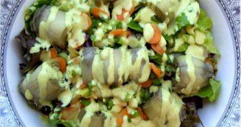 Creamy Vegan Curry Salad Dressing