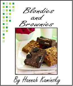 Blondies + Brownies Vegan E-Cookbook with Recipes