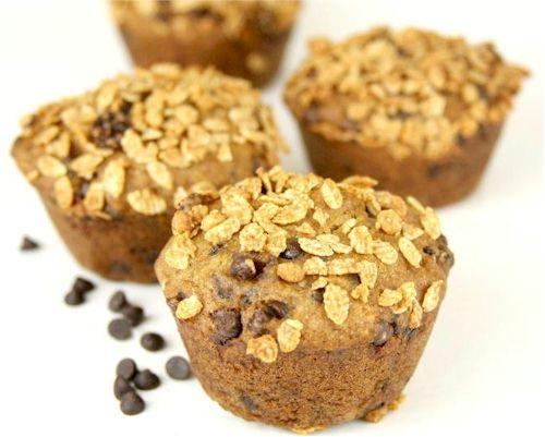 Banana Chocolate Chip Muffins with Granola Crunch Topper: Gluten-Free, Dairy-Free, Vegan