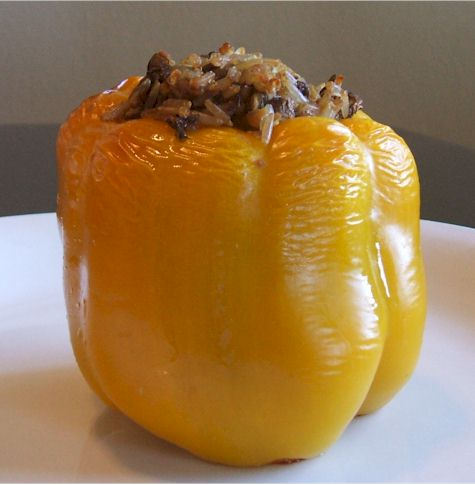 Golden Stuffed Peppers
