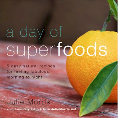Julie Morris's Superfood Ebook