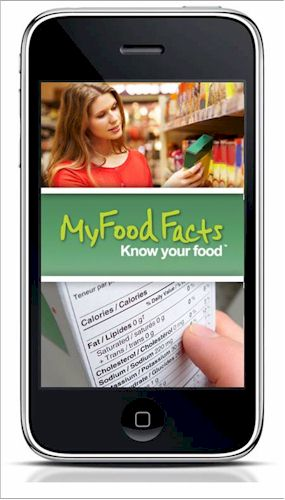 My Food Facts iPhone App