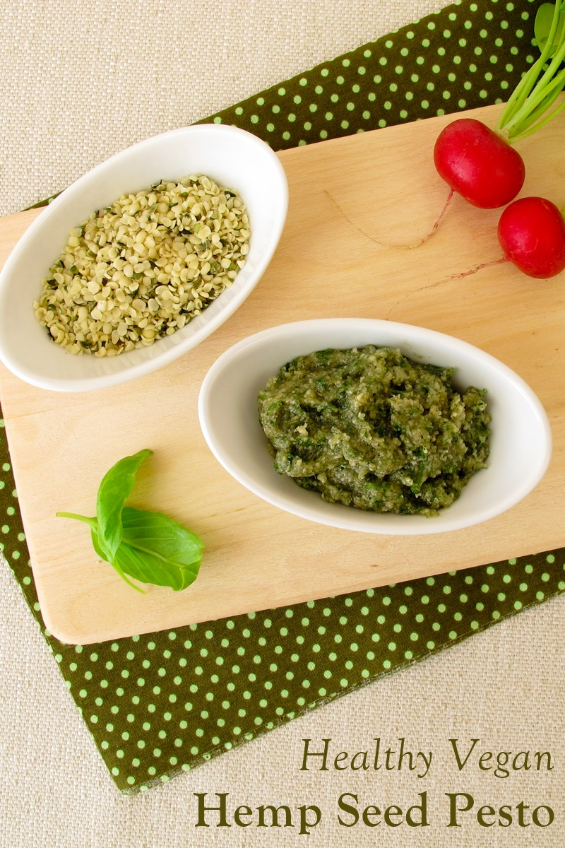 Hemp Seed Pesto Recipe that Suits Almost Any Diet, from Raw Vegan to Paleo. Also nut-free, soy-free, and dairy-free.