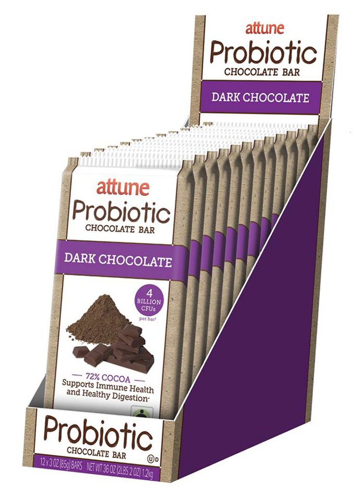 Attune Dark Chocolate with Probiotics (review)