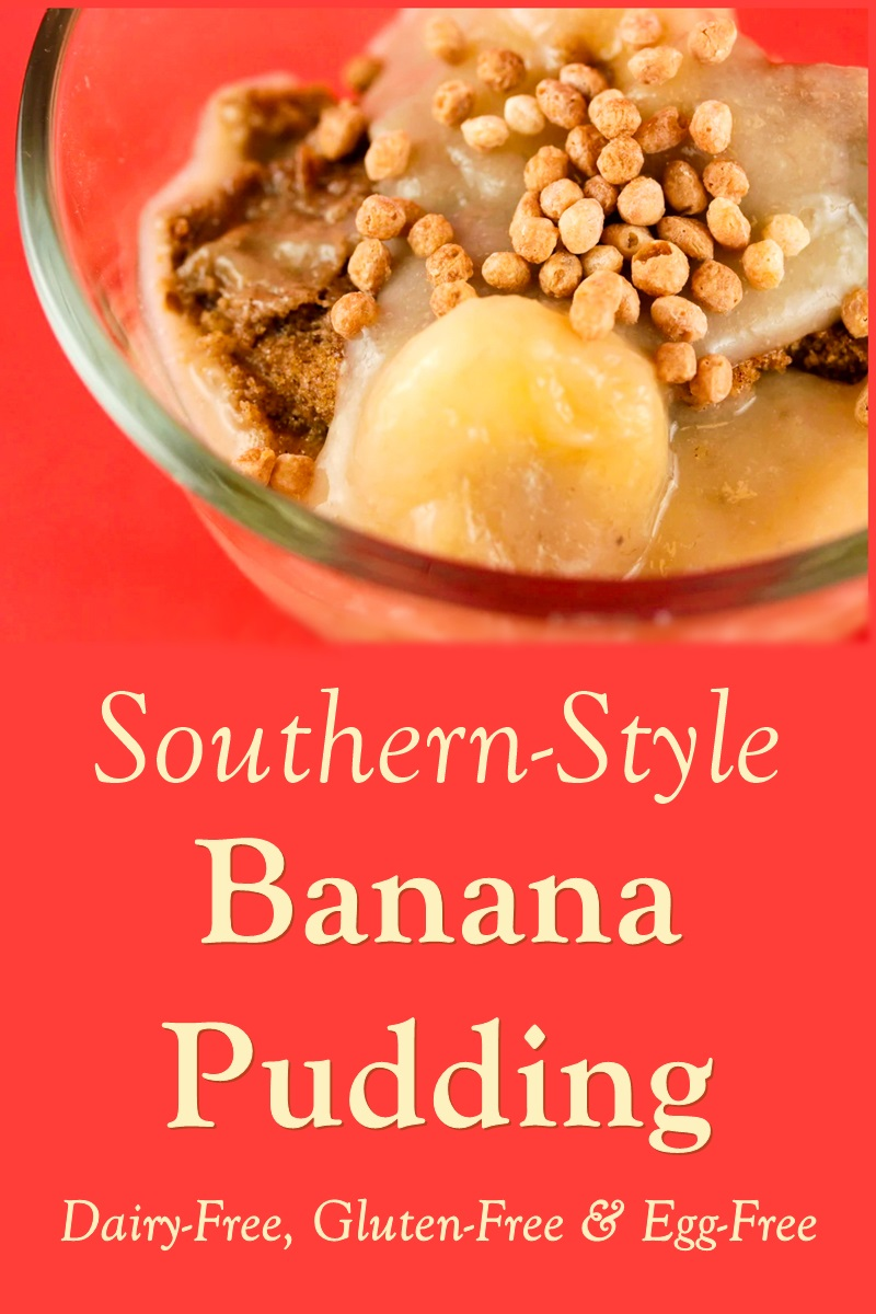 Southern-Style Vegan Banana Pudding Recipe - also gluten-free, nut-free, and soy-free!