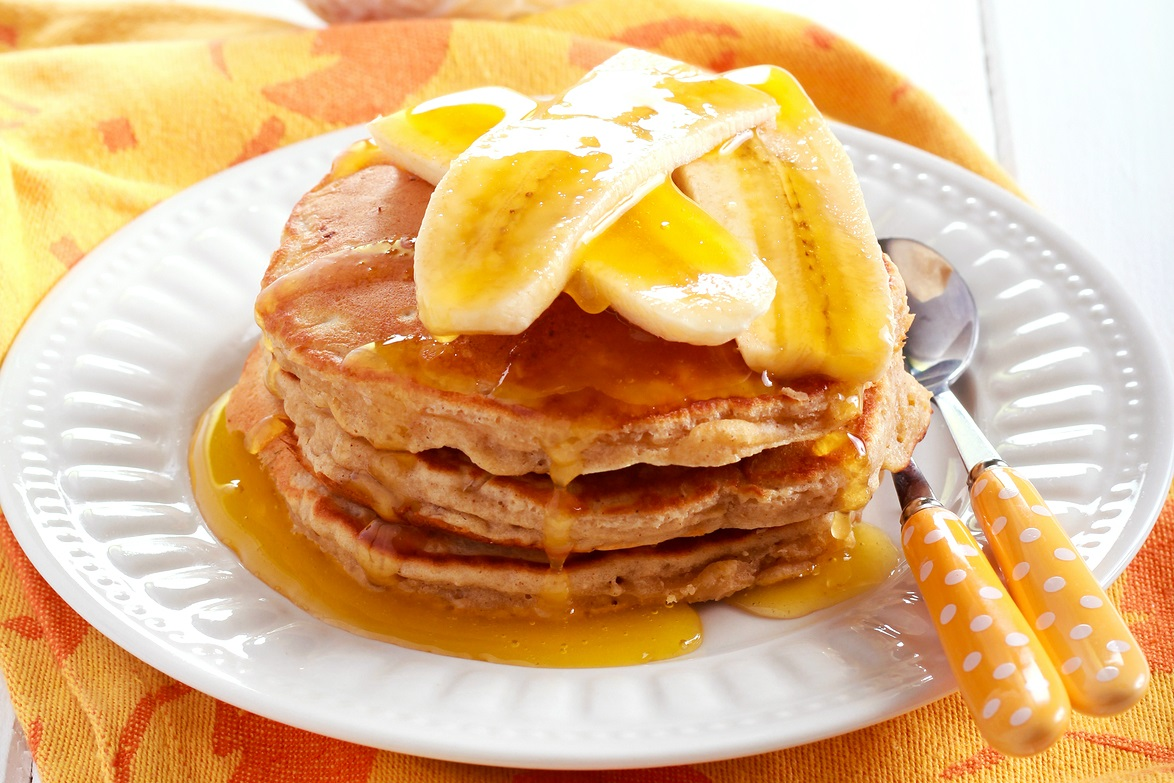 Banana Oat Pancakes Recipe (dairy-free, nut-free and soy-free)