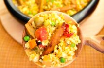 Vegan Arroz con Pollo Recipe (Arroz con Seitan from Viva Vegan!)