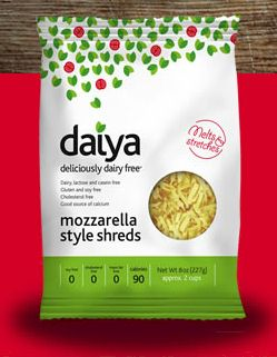 Daiya Vegan and Dairy-Free Shredded Cheese Alternative