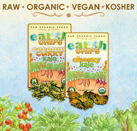 Kale Earth Chips