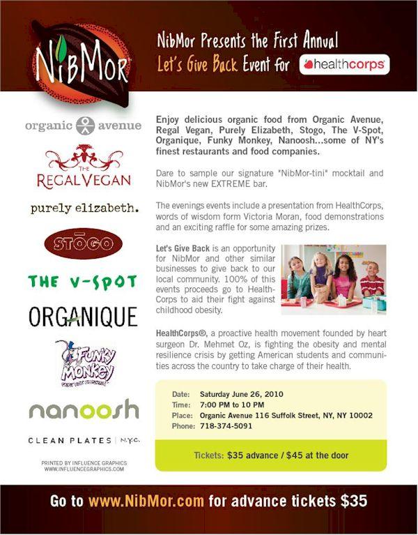 NibMor Fundraising Event