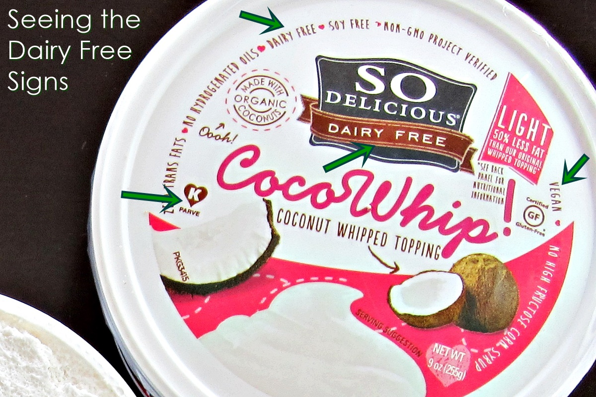 Non Dairy vs Dairy Free - Why One May Contain Milk (fortunately, this brand doesn't!)