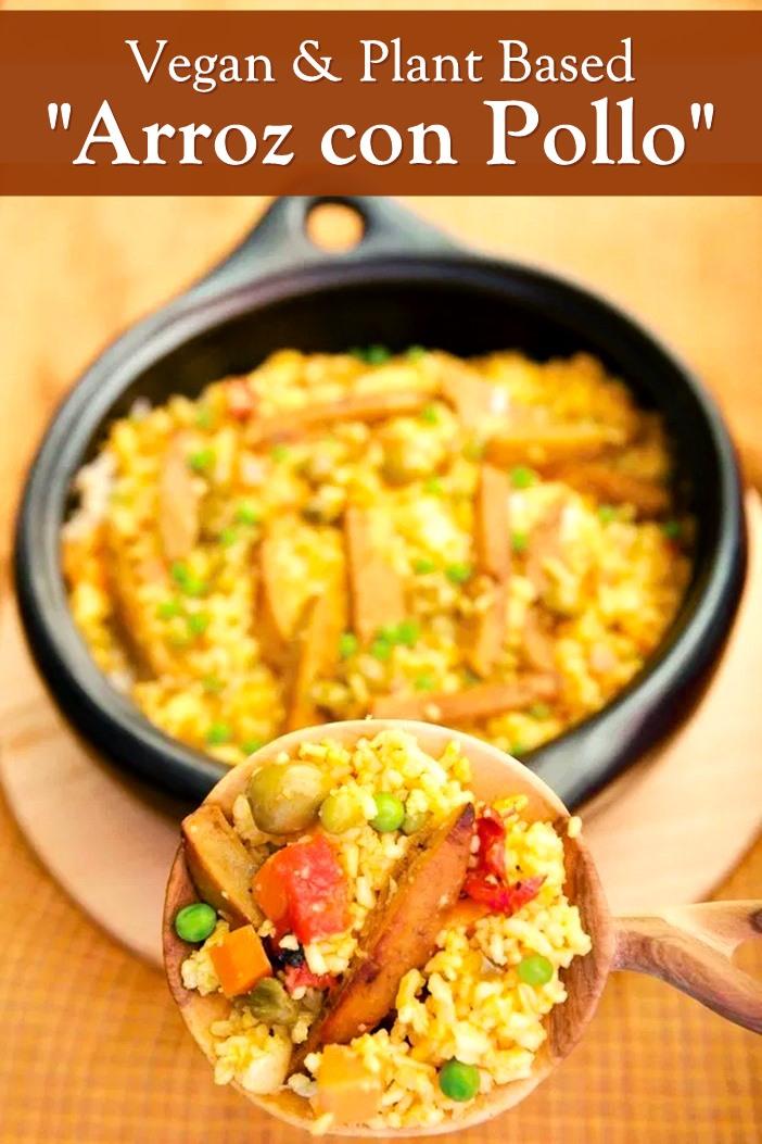 Vegan Arroz con Pollo Recipe (Arroz con Seitan from Viva Vegan!)