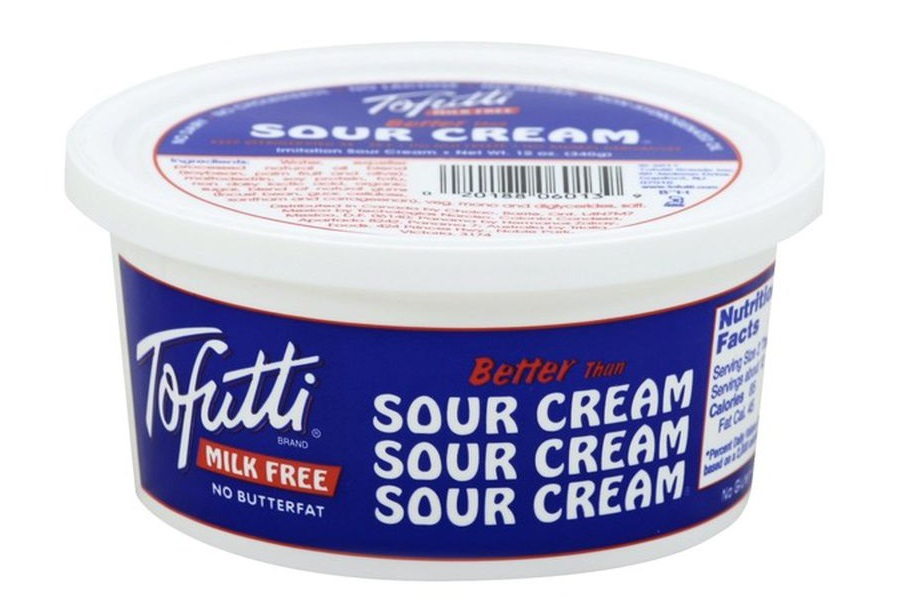 Tofutti Better Than Sour Cream Reviews and Info - a Dairy-Free and Vegan Classic