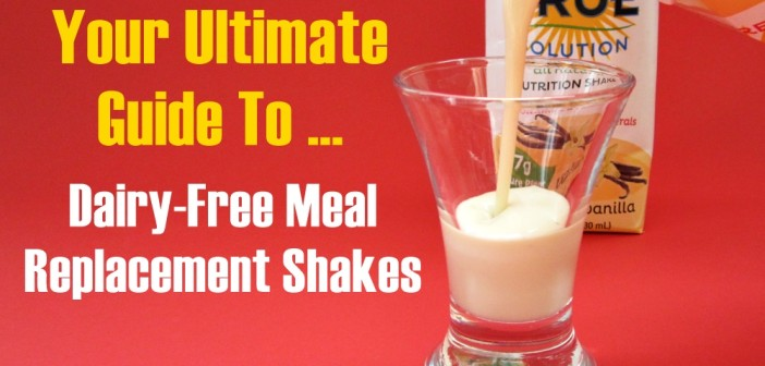 Are there any Dairy-Free Meal Replacement Shakes or Nutrition Beverages like Ensure?