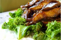 Smokin' BBQ Portobello from American Vegan Kitchen