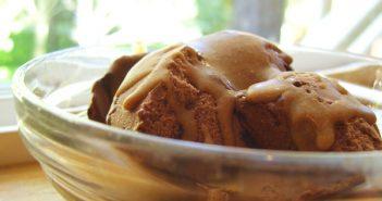 Magic Peanut Butter Ice Cream Topping - Vegan, Dairy-Free