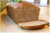 Vegan and dairy-free maple oat bread