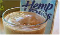 Peach Hemp Smoothie