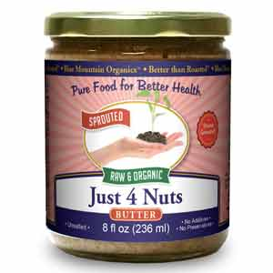 Better Than Roasted Just 4 Nuts Butter