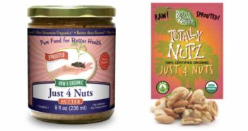 Better Than Roasted Just 4 Nuts Mix and Butter
