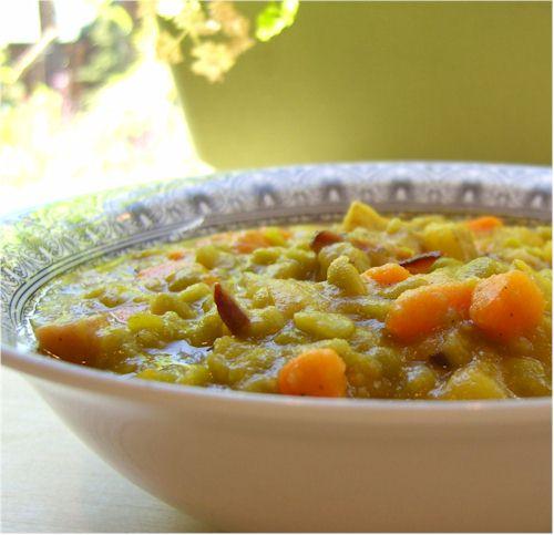 Dairy-Free Split Pea Soup