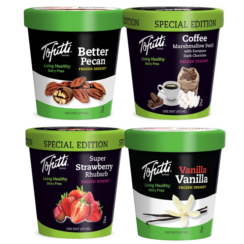 tofutti frozen dessert pints - the original dairy-free ice cream