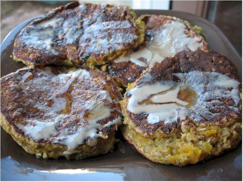 HEAB Kabocha Squash Pancakes