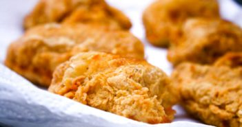 Gluten-Free Dairy-Free Southern Fried Chicken Recipe - perfectly crispy, flavorful, and everyone approved! The recipe is also egg-free, too, but don't worry, it taste just like your favorite classic fried chicken.