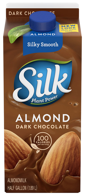 What are the ingredients in silk almond milk