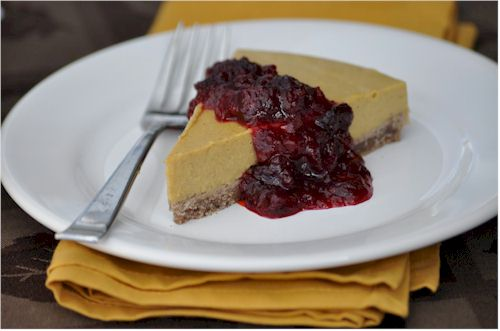 Ali's Free-From Pumpkin Cheesecake - Dairy-Free, Gluten-Free, Soy-Free