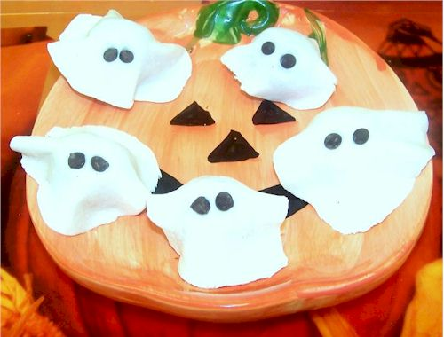 Allergy-Friendly Ghost Cookies for Halloween