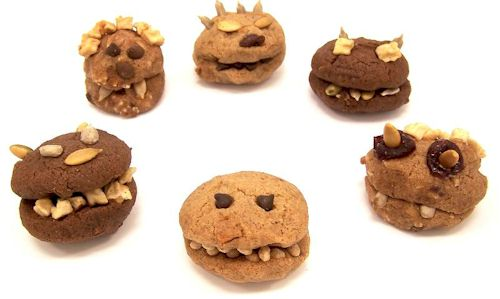 Kooky Cookie Monsters Recipe