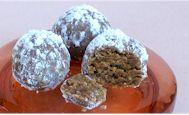 Vegan Ginger Rum Balls