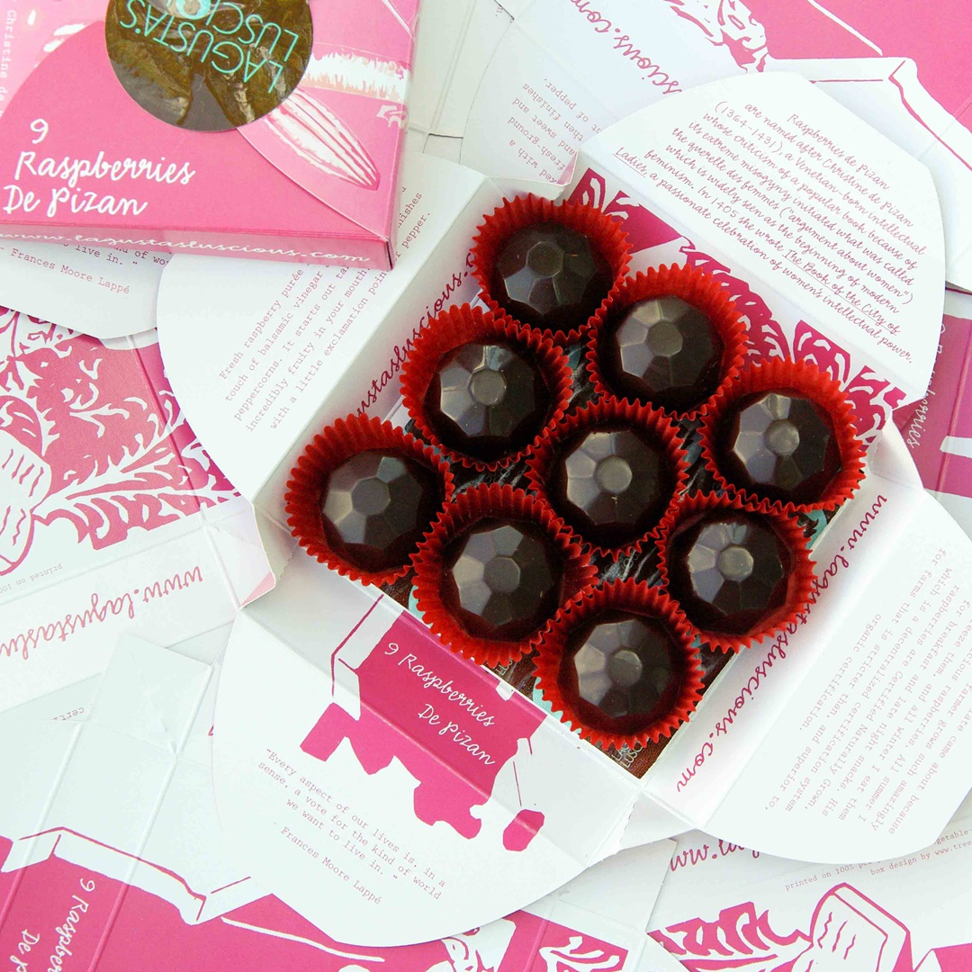 Lagusta's Luscious Bluestocking Bonbons (Review) - vegan, dairy-free truffle-like handmade confections