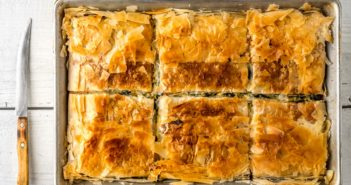Dairy-Free Spanakopita Recipe (Otherwise known as Greek Spinach Pie)