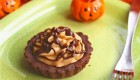 Pumpkin Mousse Tarts with Chocolate Ganache Glaze
