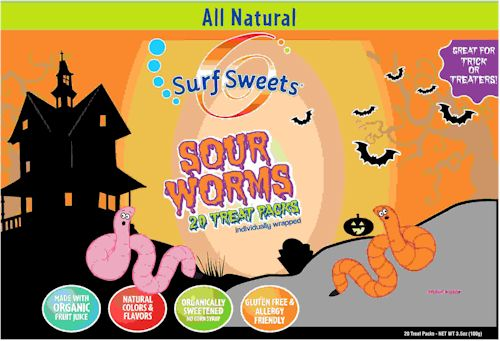 Surf Sweets All Natural Halloween Candy