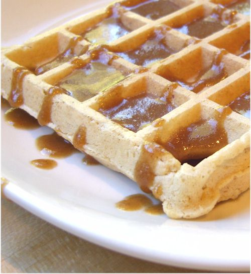 Homemade Freezer Waffles - Dairy-Free and Healthy!