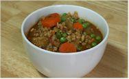 Barley w/ Tempeh - Vegan Dish