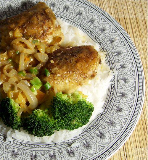 Spicy Peanut-Miso Sauce Chicken