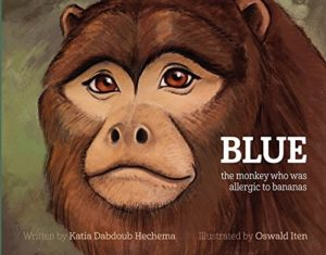 The Best Dairy-Free Children's Books for Food Allergies & Beyond (pictured - Blue)