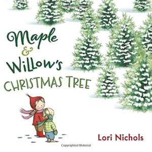 The Best Dairy-Free Children's Books for Food Allergies & Beyond (pictured - Maple and Willow's Christmas Tree)