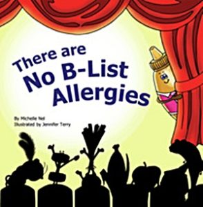 The Best Dairy-Free Children's Books for Food Allergies & Beyond (pictured - No B-List Allergies)