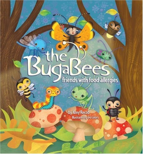 The Best Dairy-Free Children's Books for Food Allergies & Beyond (pictured - The Bugabees)
