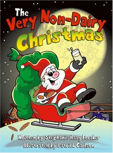 The Best Dairy-Free Children's Books for Food Allergies & Beyond (pictured - The Very Non-Dairy Christmas)