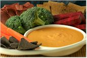 Vegan, Raw, Cheesy Hemp Nacho Sauce