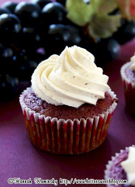 Purple Cow Cupcakes