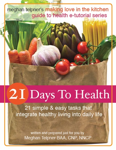 21 Day to Health by Meghan Telpner