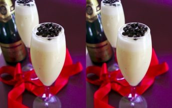 Vegan Champagne Custard - Double Up for Celebrations