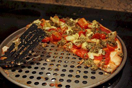 Cheeseless Artichoke Pizza - Dairy-Free, Soy-Free & Optionally Vegan